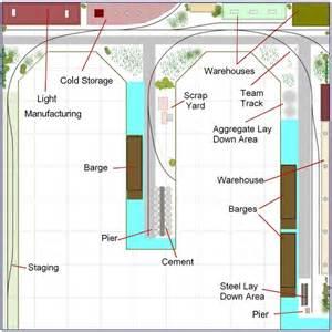 small switching plan by lance mindhiem model railroad