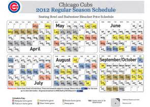 cubs home schedule printable chicago cubs 2014 tv schedule