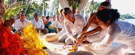 thailand wedding traditions buddhist ceremonies personal ceremonies marriage