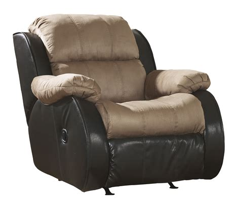 contemporary recliners fabric presley contemporary cocoa fabrics d rocker recliner the