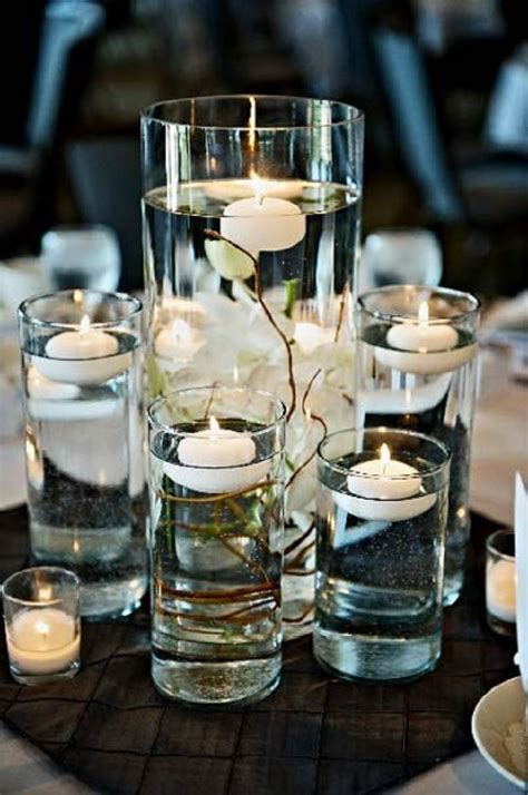 diy centerpieces top 10 romantic diy candle holders floating candles