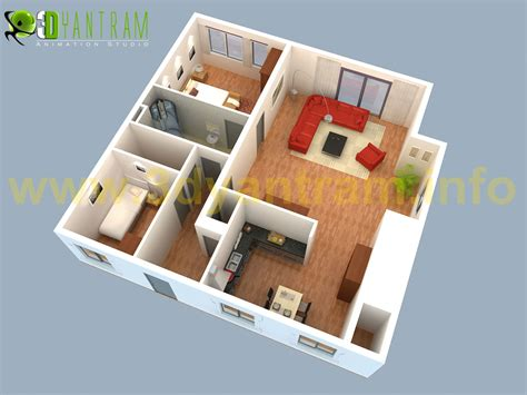 Floor Plan 3d House Building Design | 3d small house floor plans small house plans 3d johnywheels