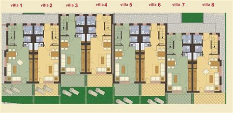 Floor Plans Of Houses For Sale by Fully Furnished 2 Bedroom Semi Detached House With Sea View