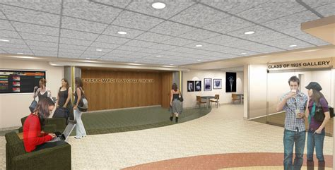 East Wing Floor Plan by Phase I Design Renderings Memorial Union Reinvestment
