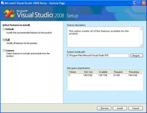 tutorial web intelligence rich client visual studio 2008 setup wizard project