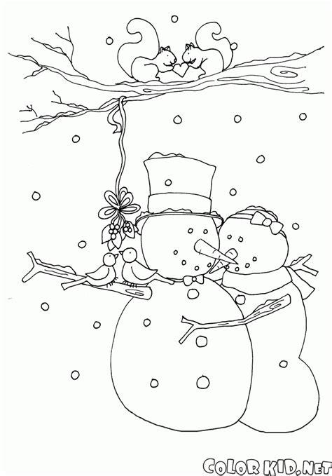 dibujos de navidad para colorear muñecos de nieve dibujo para colorear el baile del mu 241 eco de nieve