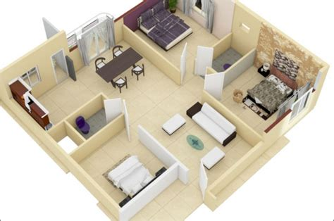 Home Design Plans 3d Remarkable 3d Floor Plans House | home design plans 3d remarkable 3d floor plans house
