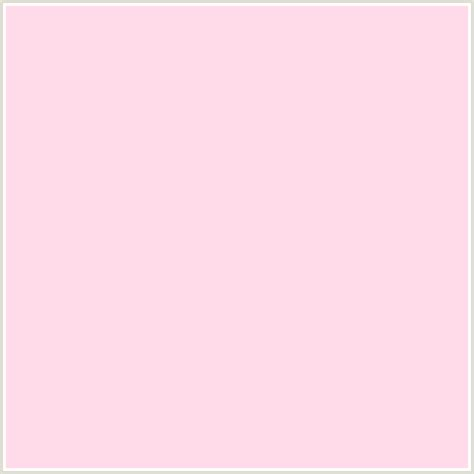 pastel pink rgb ffdbea hex color rgb 255 219 234 light red pale