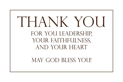 thank you letter to pastors thank you pastor images