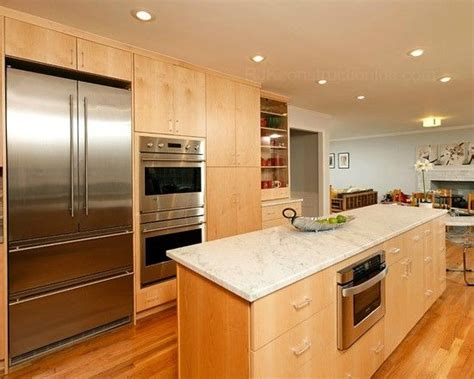 Kitchens With Light Maple Cabinets Excellent Kitchen Design With Recessed Lights Modern Contemporary Kitchen With Cwp Cabinetry