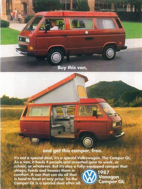 volkswagen vanagon 1987 1987 volkswagen vanagon cer gl usa by ifhp97 via