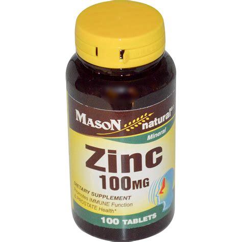 Vitamin Zinc Capsule Vitamins Zinc 100 Mg 100 Tablets Iherb
