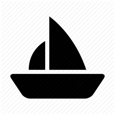 boat icon png boat sail sailing ship shipping travel yacht icon