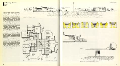 Cement House Plans by Charles Correa Charles Correa Archaeology Museum Archnet