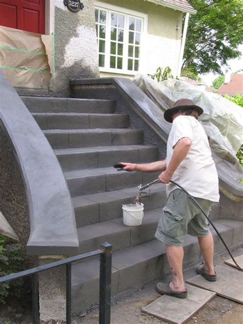 Polished Micro Topping  resurfacing concrete with a