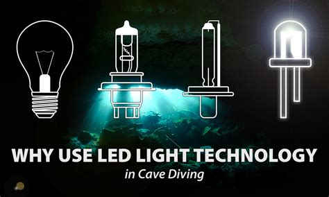 Why Use Led Light Bulbs Led Lighting In Technical Diving Sdi Tdi Erdi