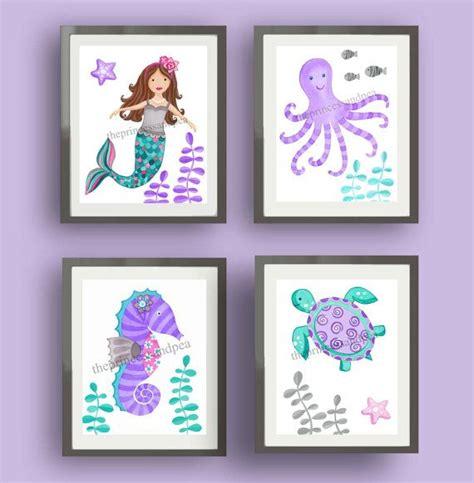 kids mermaid bathroom 1000 ideas about purple kids bedrooms on pinterest
