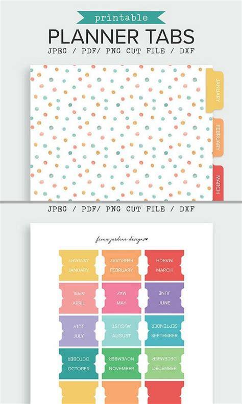 printable tabs ideas pinterest planner tabs