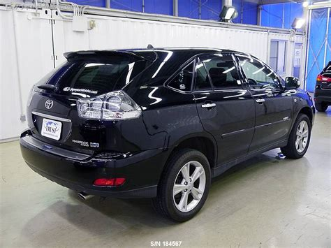 lexus harrier 2010 toyota harrier lexus rx 2010 s n 184567 used for sale