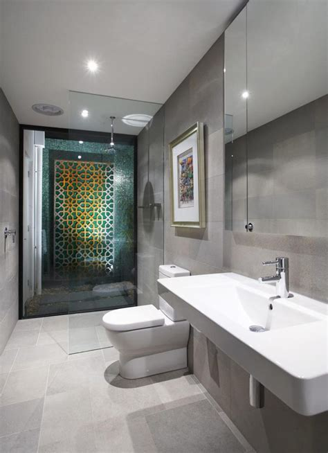 modern home bathroom design stylish melbourne home dazzles with a lavish pool space