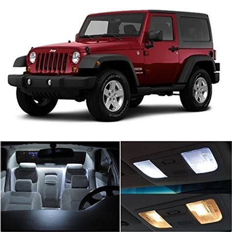 Jeep Jk Interior Lights by Ledpartsnow Jeep Wrangler Jk 2007 2015 Xenon White Premium
