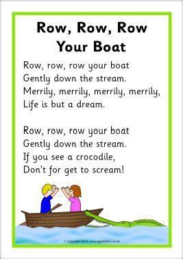 boat song for baby row row row your boat song sheet sb10945 sparklebox
