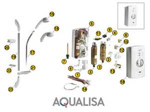 aqualisa aquastyle shower spares and parts aqualisa