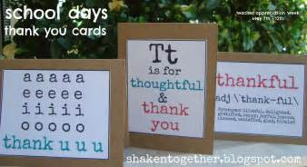 free printable thank you cards shaken together
