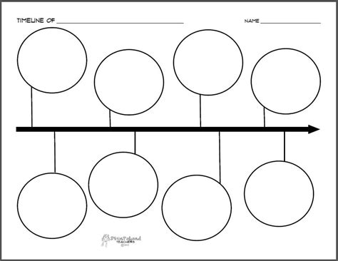 printable timeline organizer new printable timeline on tpt squarehead teachers