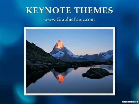 Keynote Church Themes | blue abstrack keynote themes graphicpanic com