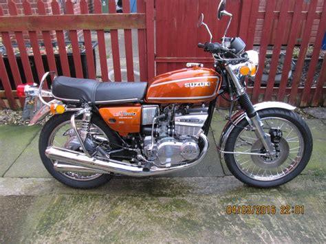 Suzuki 380 Gt Restored Suzuki Gt380 1976 Photographs At Classic Bikes