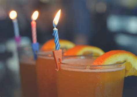 birthday drink wish birthday candle holders for drinks the