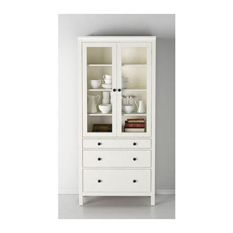 ikea solid wood cabinets hemnes glass door cabinet with 3 drawers white stain