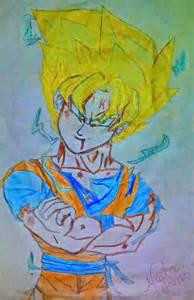 super saiyan goku dragon ball fan art 33798442 fanpop