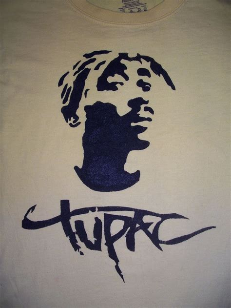 tupac stencil  jan traditional art street art