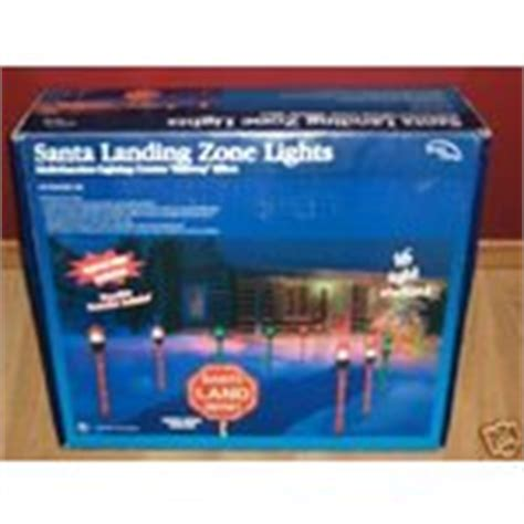 santa runway landing lights santa runway landing zone lights nib 11 27 2007