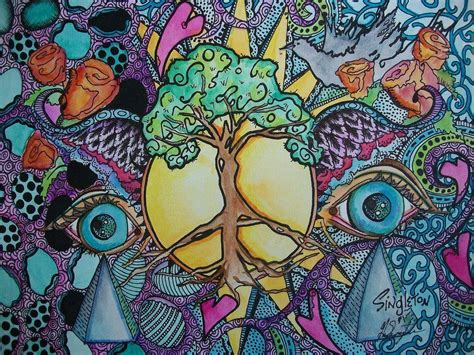 art wallpaper hd tumblr hippie backgrounds wallpaper cave