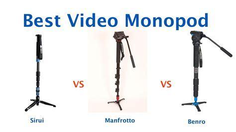 Best Video Monopod Sirui vs Benro vs Manfrotto   YouTube