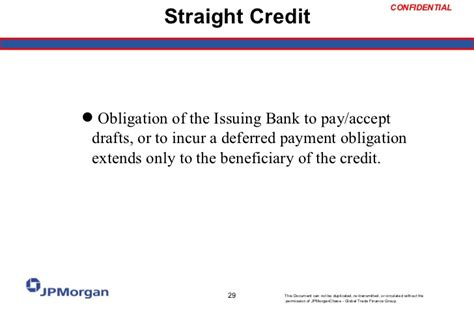 Letter Of Credit At Sight 30 Days Letter Of Credit 101