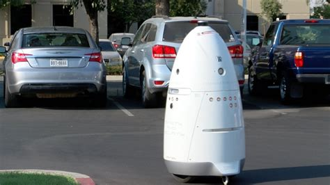 Parking Lot Robot by A California Hospital Needs Your Help Naming Their Parking