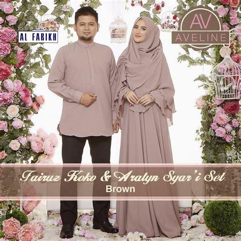 R120 Cuci Gudang Dress Lebaran butik busana muslim terbesar dan terlengkap aralyn syari set dan fairuz koko sarimbit muslim