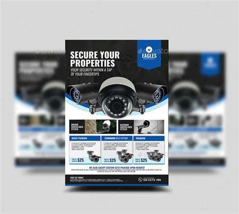 Cctv Camera Shop Flyer By Artchery Graphicriver Cctv Flyer Template
