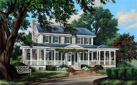 southern traditional house plans colonial cottage country farmhouse southern traditional house plan 86308 country