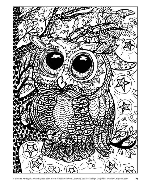 owl mandala coloring pages for adults 259 best kleurplaten owls images on owls