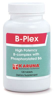 Vitamin San B Plex B Plex High Potency B Vitamins Karuna