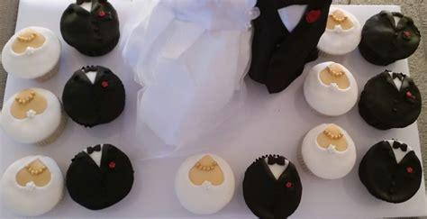 Hochzeitsmuffins Deko by Muffins Braut Und Br 228 Utigam Archive