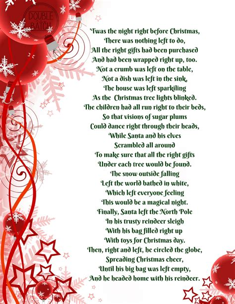 the night before christmas poem exchange gift gift exchange right or left poems gift exchange and gifts