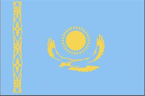 flags of the world kazakhstan free picture flag kazakhstan