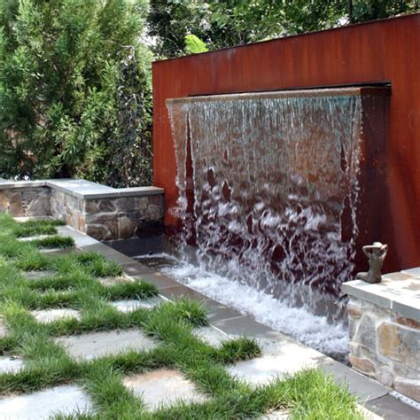 backyard fountains and waterfalls world design encomendas home made garden fountain