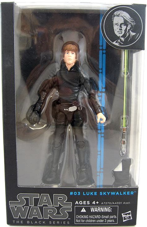 03 Luke Skywalker Black Series Wars Hasbro Mib wars legends the black series luke skywalker 03 www toysonfire ca